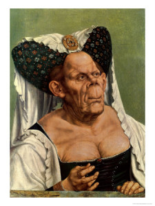 Grotesque Old Woman - Quintin Massis